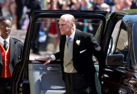 Prince Philip was hiding a pretty serious injury at the Royal Wedding