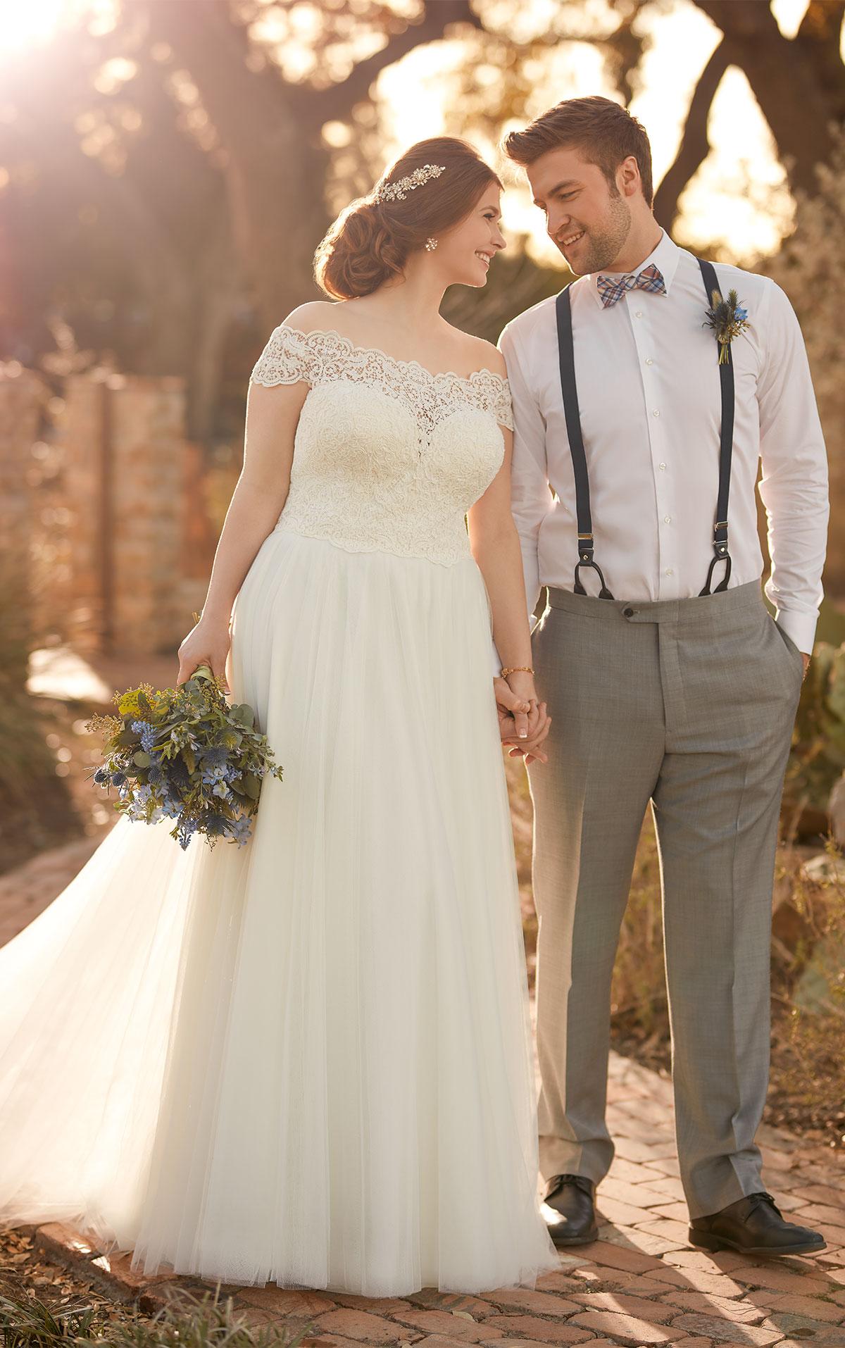 Breezy Plus Size Beach Wedding Dress   Hochzeitszeit