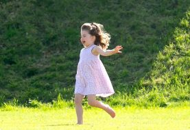 Princess Charlotte is already obsessed with fashion and has all the sass