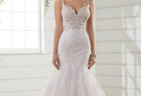 Schiere Meerjungfrau Hochzeitskleid