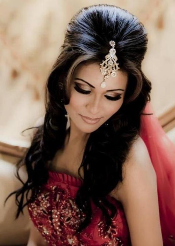 Home Hair Styles Bridal Hairstyles 50 Best Indian