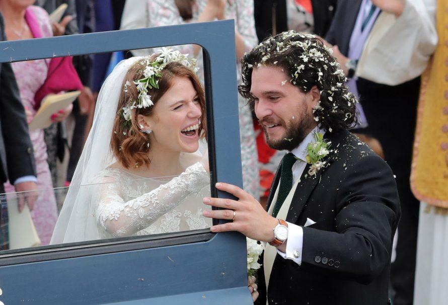 Dies ist der einzige Darsteller von Game of Thrones, der nicht an Kit Harington und Rosie Leslies Hochzeit teilgenommen hat