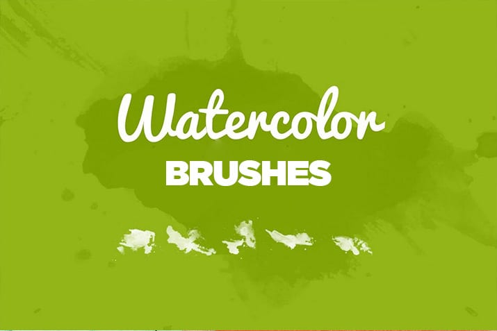 20+ Best Photoshop Watercolor Brushes