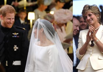 Princess Diana was honoured in the most lovely way during the wedding ceremony
