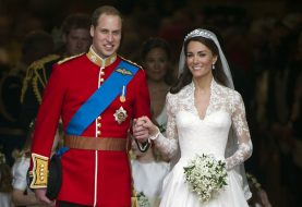 Jeder königliche Hochzeitsstrauß hat diese eine symbolische Blume in sich