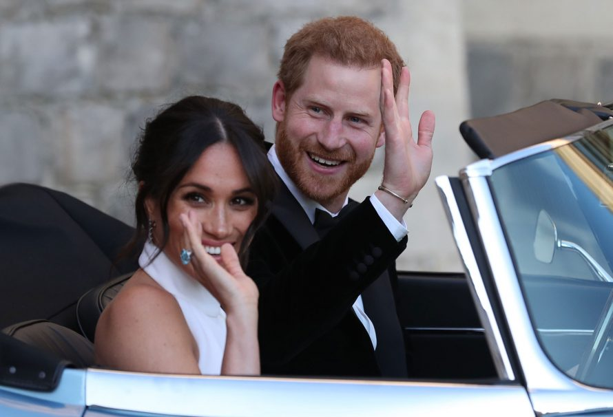 Meghan Markle wore this Diana memento on her wedding day