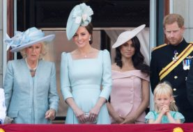 Deshalb trugen alle bei The Queen´s Trooping The Colour Blau