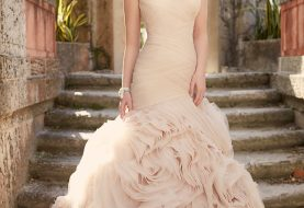 Mutiges Hochzeitskleid