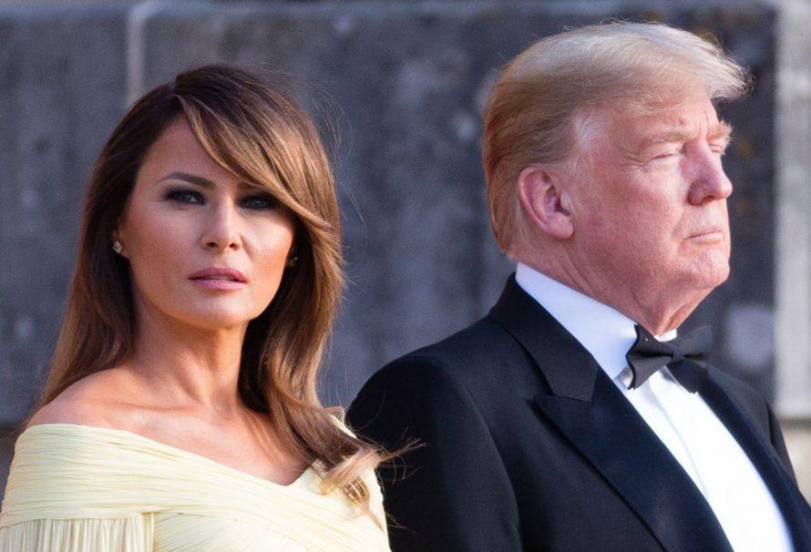 Versuchte Melania Trump mit ihrem Outfit eine Nachricht an den Palast zu schicken?