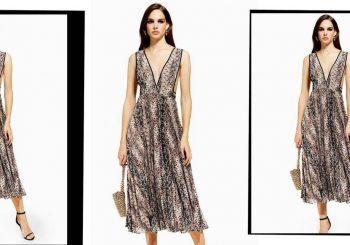 Topshop hat gerade sein Cult Polka Dot Kleid in Schlangenhaut veröffentlicht und wir brauchen es