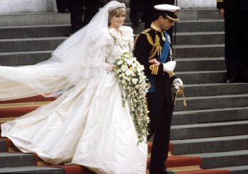 Meghan Markle sewed this tribute to Diana into her wedding dress