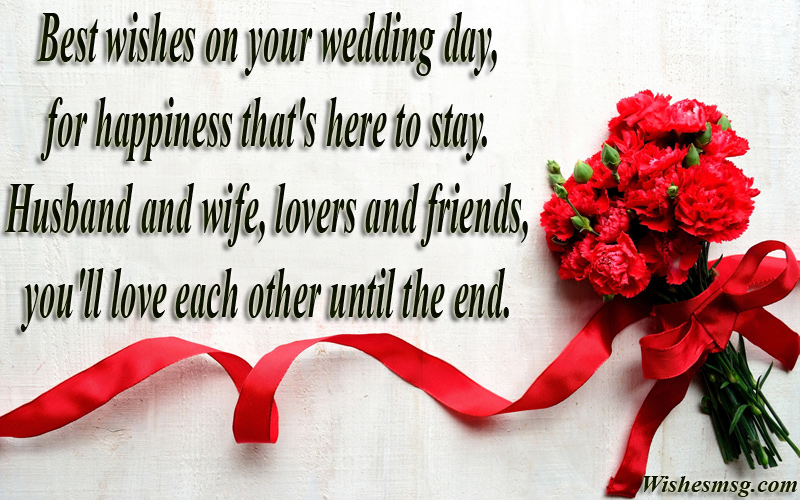 Best Wishes For Wedding