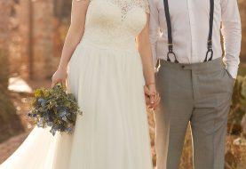 Breezy Plus Size Beach Wedding Dress