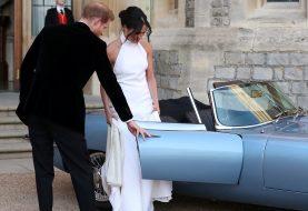 Meghan Markle lieh sich etwas von Alexa Chung für ihren Hochzeitsempfang