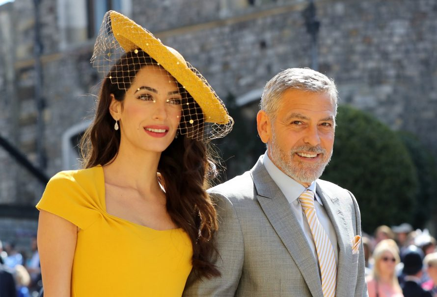 Amal and George Clooney might be going to two royal weddings this year