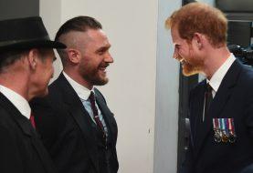 Tom Hardy hat sich gerade wegen seiner Beziehung zu Prince Harry geöffnet