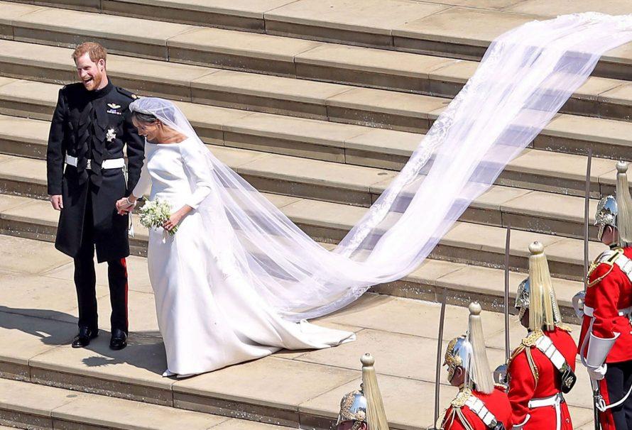 So viel kostete Meghan Markles Hochzeitskleid