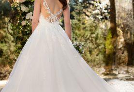 Strukturierte Prinzessin Wedding Dress