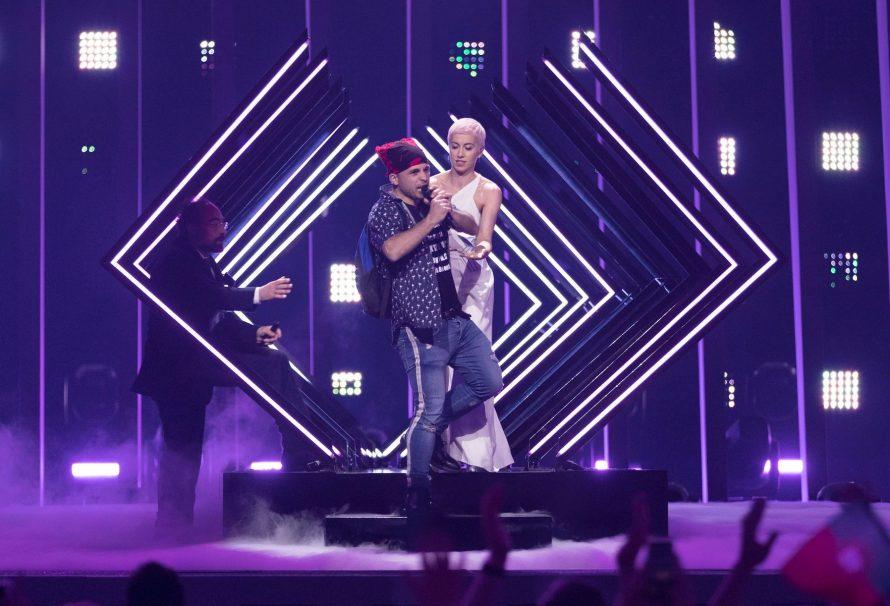 Das wissen wir im Moment über den Bühneneindringer von Eurovision
