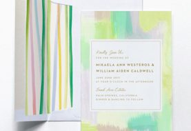 14 Watercolor Wedding Invitations We Seriously Love