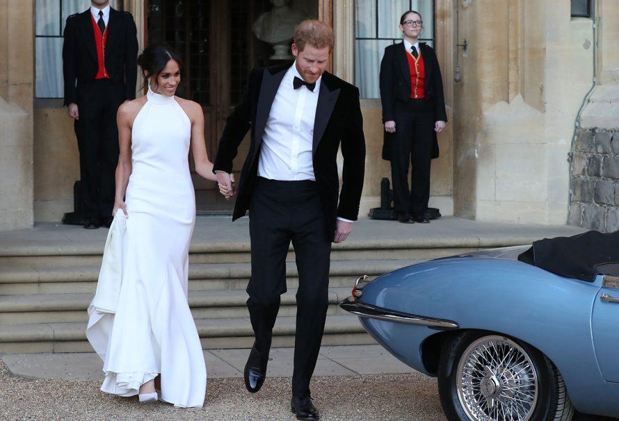 Der königliche Hochzeitsempfang von Prinz Harry und Meghan Markle war moderner AF