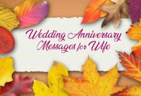Hochzeitstag wünscht Frau - süße romantische Mitteilungen