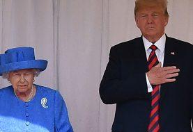 Hat die Königin diese Broschen getragen, um Trump heimlich zu trollen?
