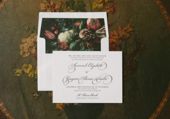 Wedding Invitation Wording for Complicated Situations