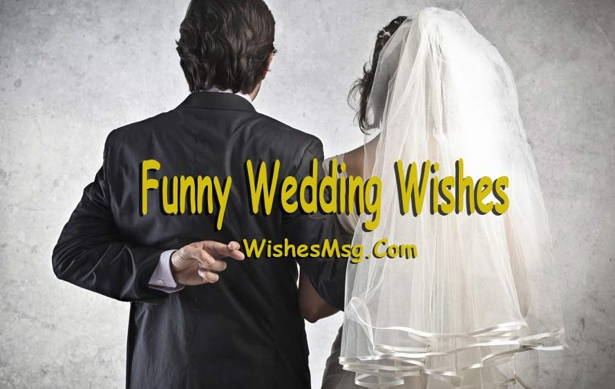 Lustige Hochzeitswünsche, Zitate und humorvolle Mitteilungen