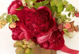 Hochzeitssträuße nach Farbe: Orange und Rot