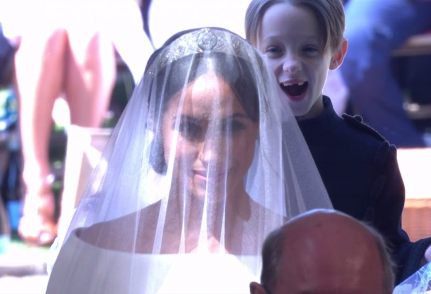 Das ist es, worüber Meghans Knabe auf der königlichen Hochzeit so begeistert war