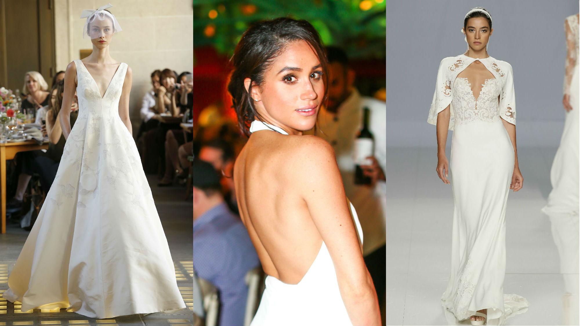 Unsere letzte Vermutung: Wird die Brautkleid-Designerin von Meghan Ideen